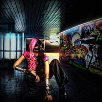 Cyberpunk Subway... by alter-eye
