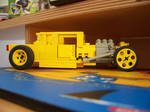 Yellow Rod LEGO 1 by LlamaDalai