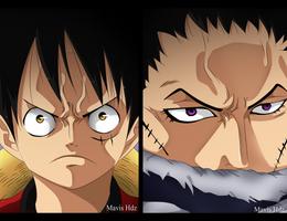 One Piece 878 - Luffy VS Katakuri by MavisHdz