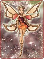Gigi Enchantix Card by TheDamnedFairy