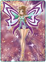 Olivia Enchantix Card by TheDamnedFairy