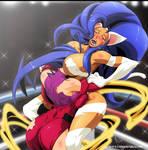 FELICA VS ROSE by CyberuniqueArt