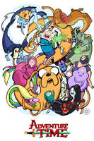 What time is it? Adventure Time by SpicyDonut