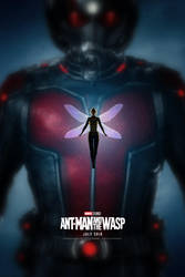 Ant-Man and the Wasp Poster by bakikayaa