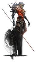 Necromancer by Eyardt