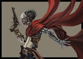 Crimson Duellist by Eyardt