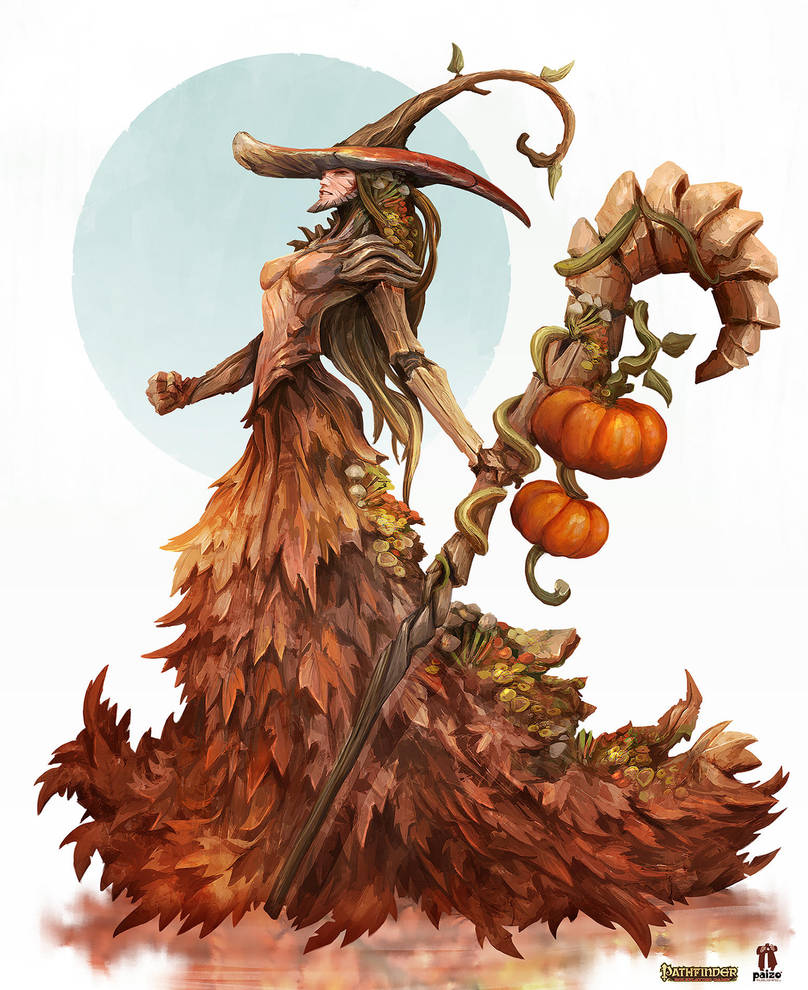Season Witch - Pathfinder RPG by Eyardt