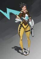 Tracer Overwatch by chiduong