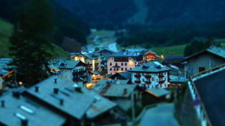 St.Caterina tiltshift by night by lollotek