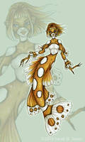 Harlequin Mermaid by MisticUnicorn