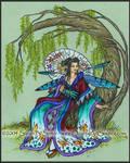 Butterfly Geisha by MisticUnicorn