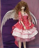 Sweet Valentine BJD Gown 2 by MisticUnicorn