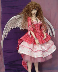 Sweet Valentine BJD Gown 2 by MisticUnicorn