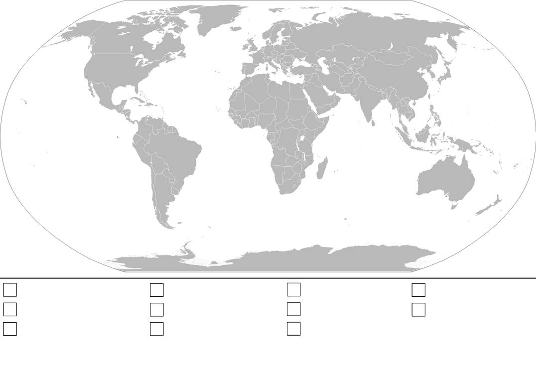 World Map Template With Key By Anzac A1 On Deviantart