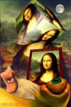 Dreaming a cubical Mona Lisa by Karolusdiversion