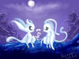 Ori and Arya by jasonpepe