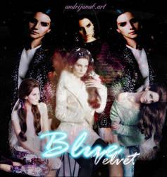 ...Blue Velvet... by AkyH28Arts