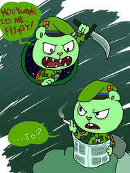 Happy Tree Friends: Who cares? by ArtsyGumi
