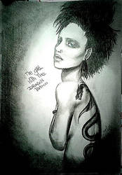 the girl with the dragon tattoo by MadMeli