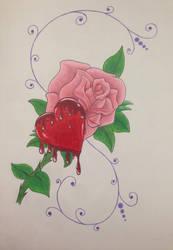 Bleeding Heart by dalescott78