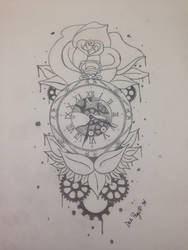 Clockwork Rose by dalescott78