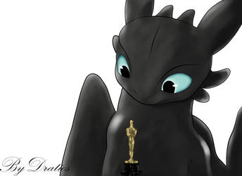 Toothless Take The Oscar Paint by KallusTail