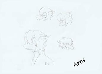Aros drawing by KallusTail