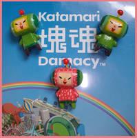 Chibi-Charms: Katamaris by MandyPandaa