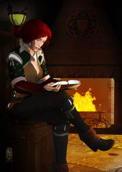Triss Merigold by Cybermage86