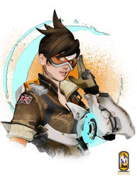 Overwatch: Tracer by Cybermage86