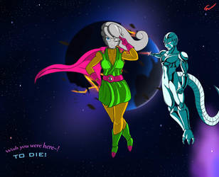 Puddin and Cooler by Sarou120