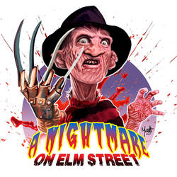 Freddy Krueger by olivier77