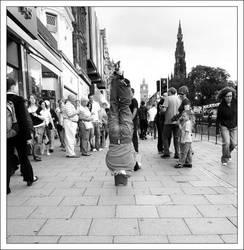 On Princes Street by dislocatedgerbil