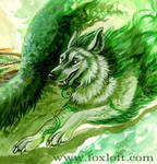 Plant Spirit Detail by Foxfeather248