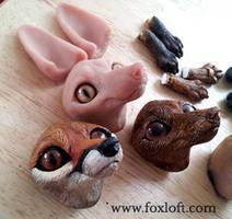 Foxdolls by Foxfeather248