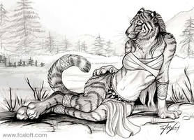 Teiirka Tigress by Foxfeather248
