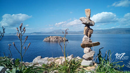 stone balance #10 by 187designz