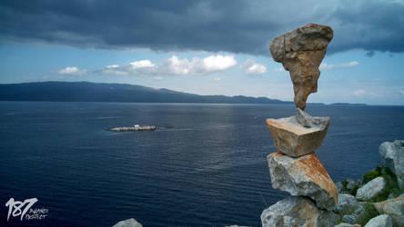 stone balance #40 by 187designz