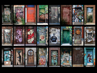 The Doors of NYC by piratesofbrooklyn