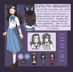 RK - Evalyn Norwood by spiffychicken