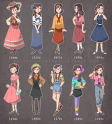 20th Century Styles by spiffychicken