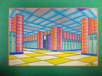 Psychadelic Hallway 2 by CARPEBRI