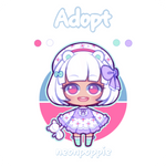 Adopt #9 | OPEN - $12 by neonpoppie