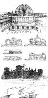 Reichstag through the years by akreon