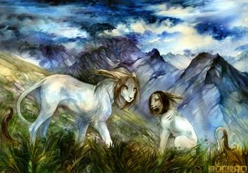 grasslands by akreon