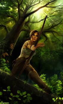 Tomb Raider by akreon