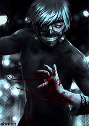 Tokyo Ghoul by akreon