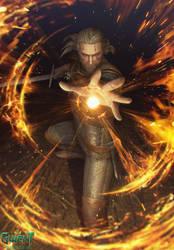 Geralt: Igni by akreon