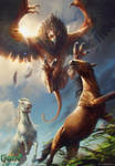 Archgriffin - Gwent Card by akreon