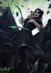 Iris - Gwent Card by akreon